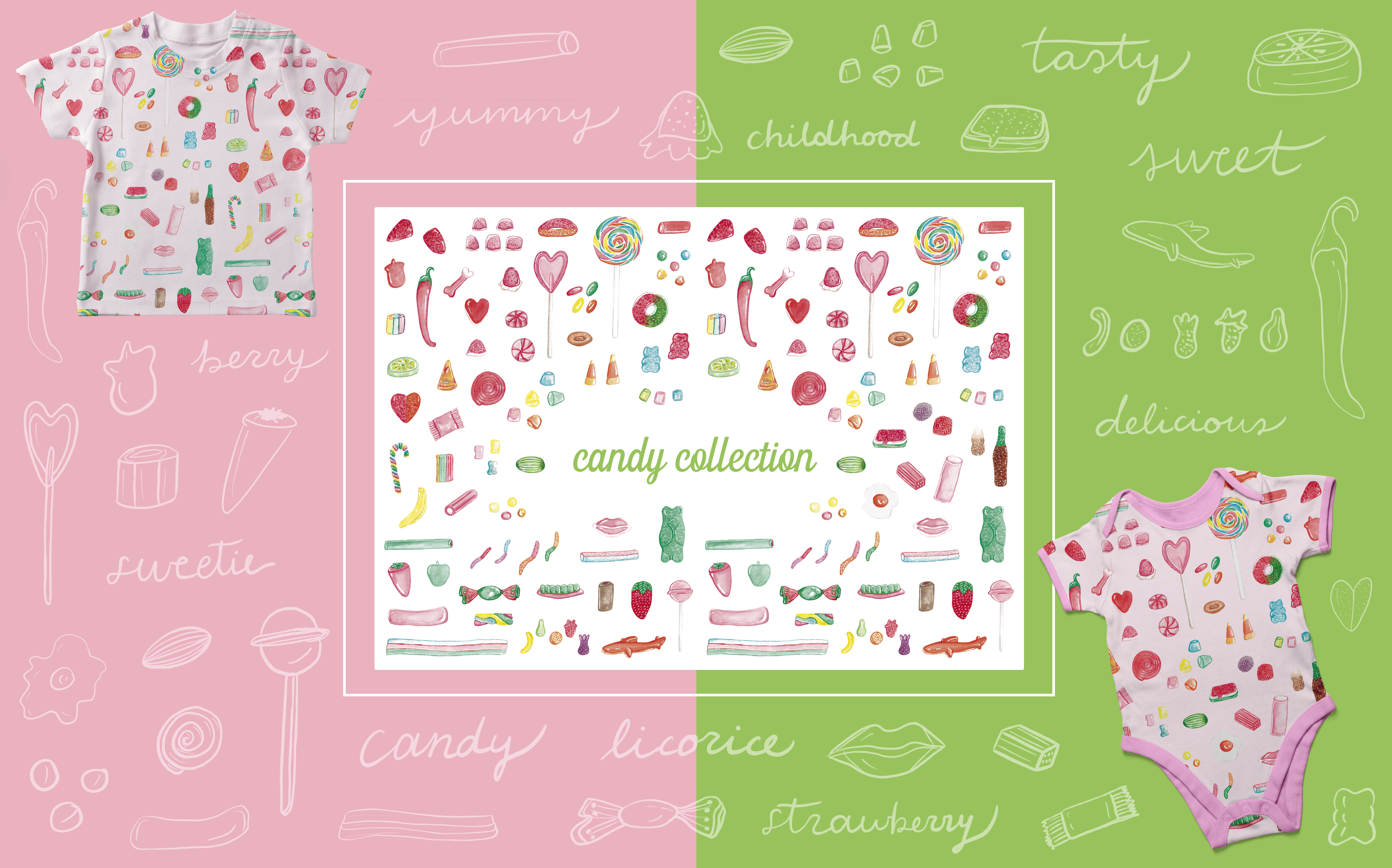 Candy Collection - Art Licensing