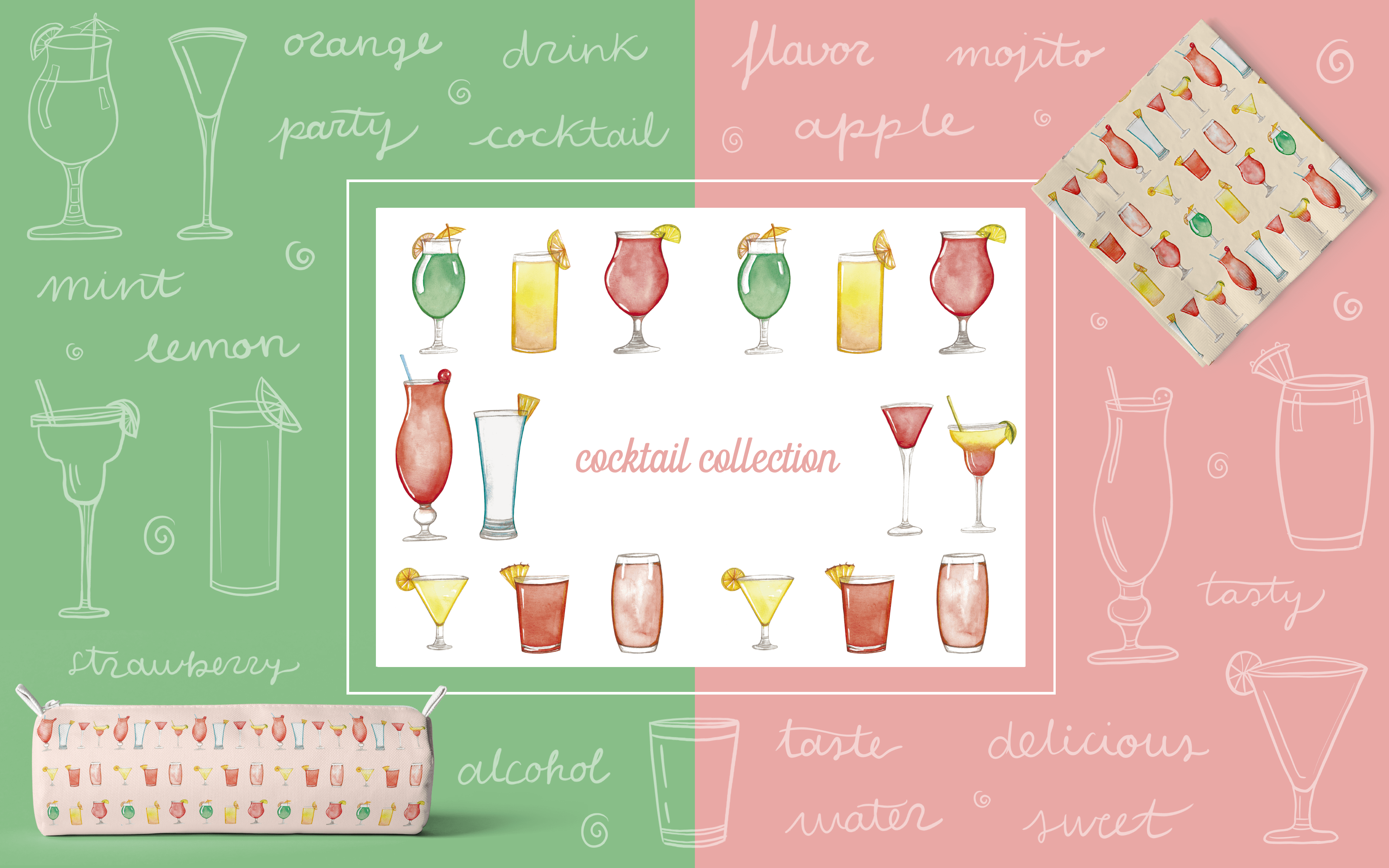 Cocktail Collection - Art Licensing