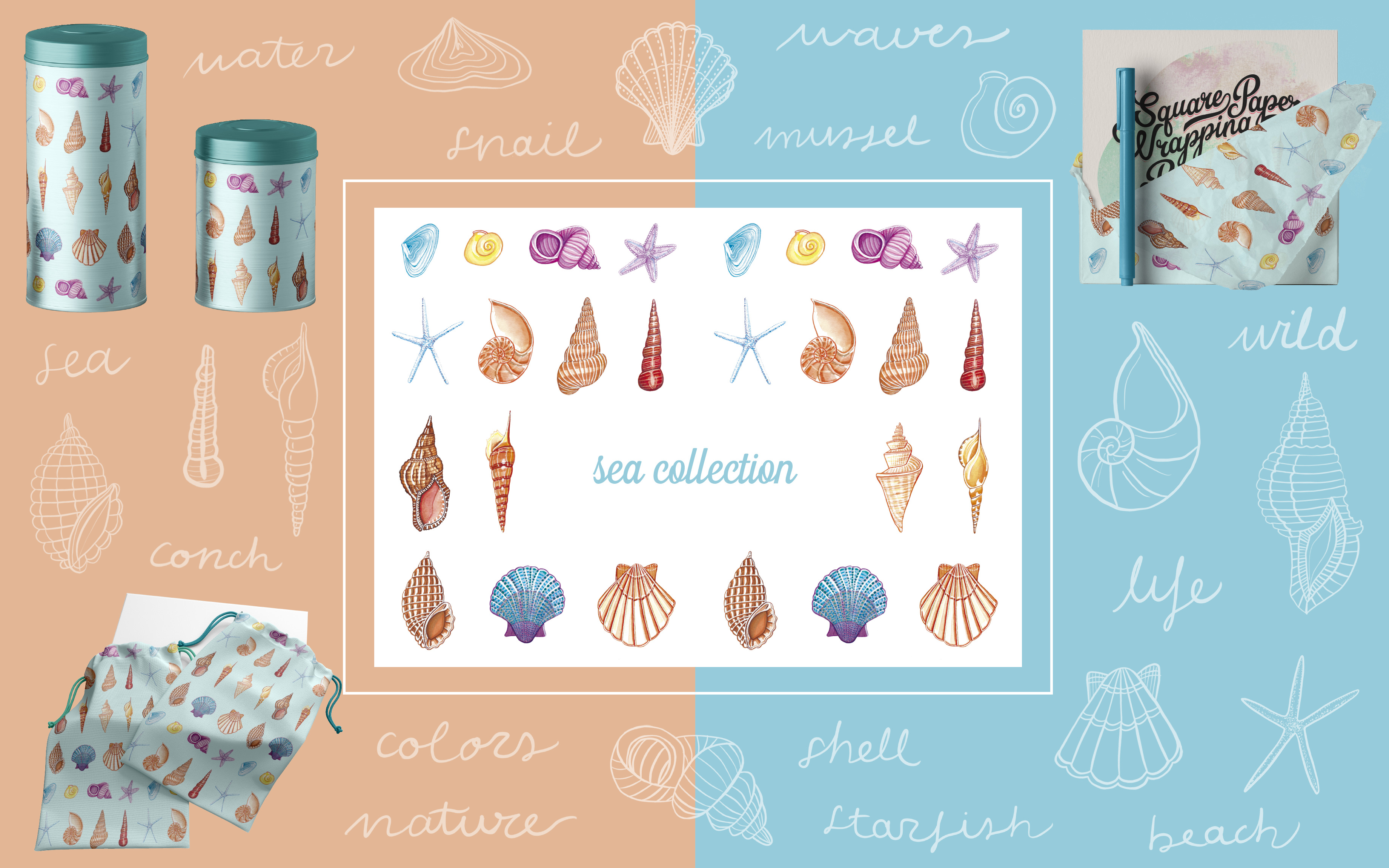 Sea Collection - Art Licensing