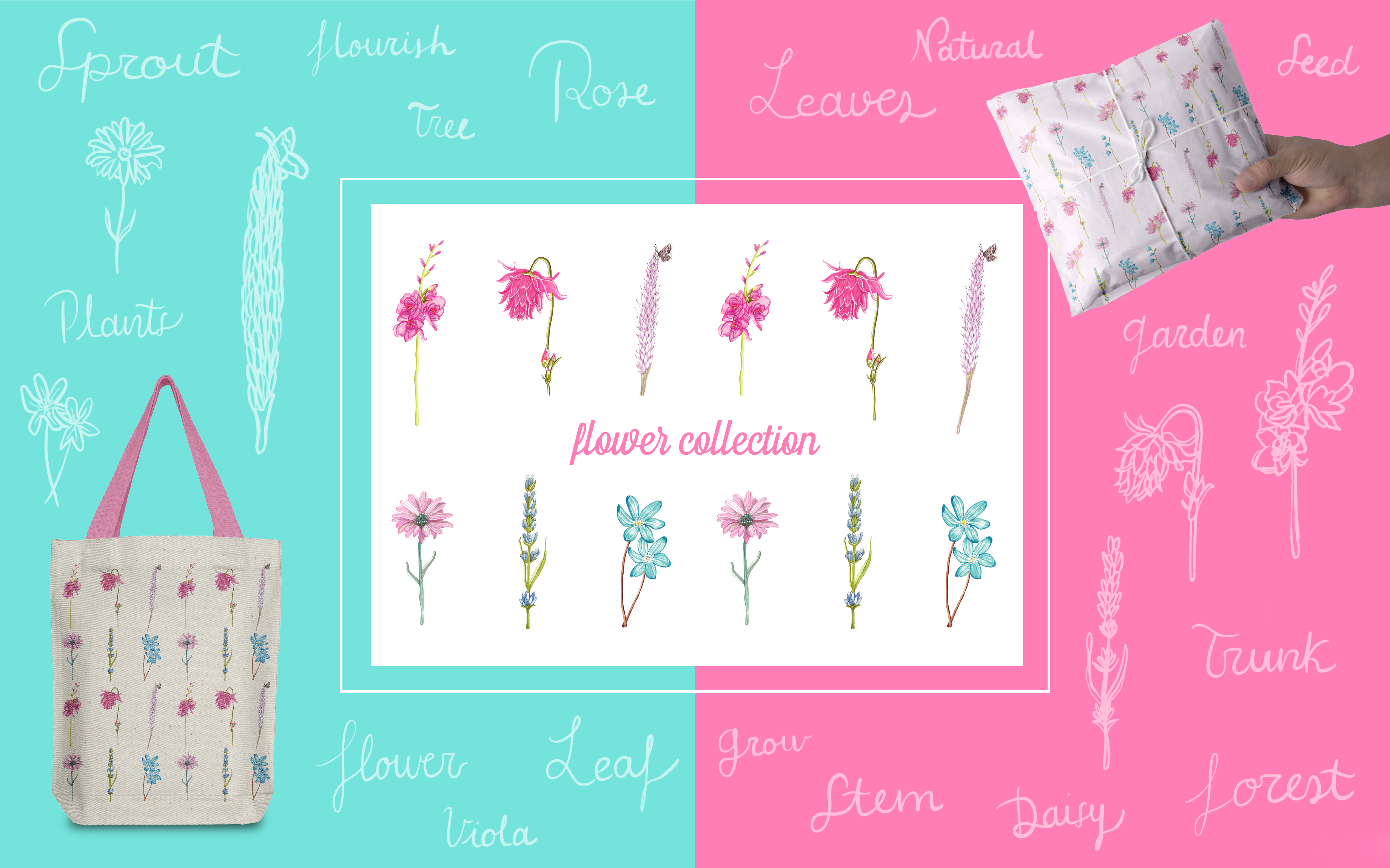 Flower Collection - Art Licensing