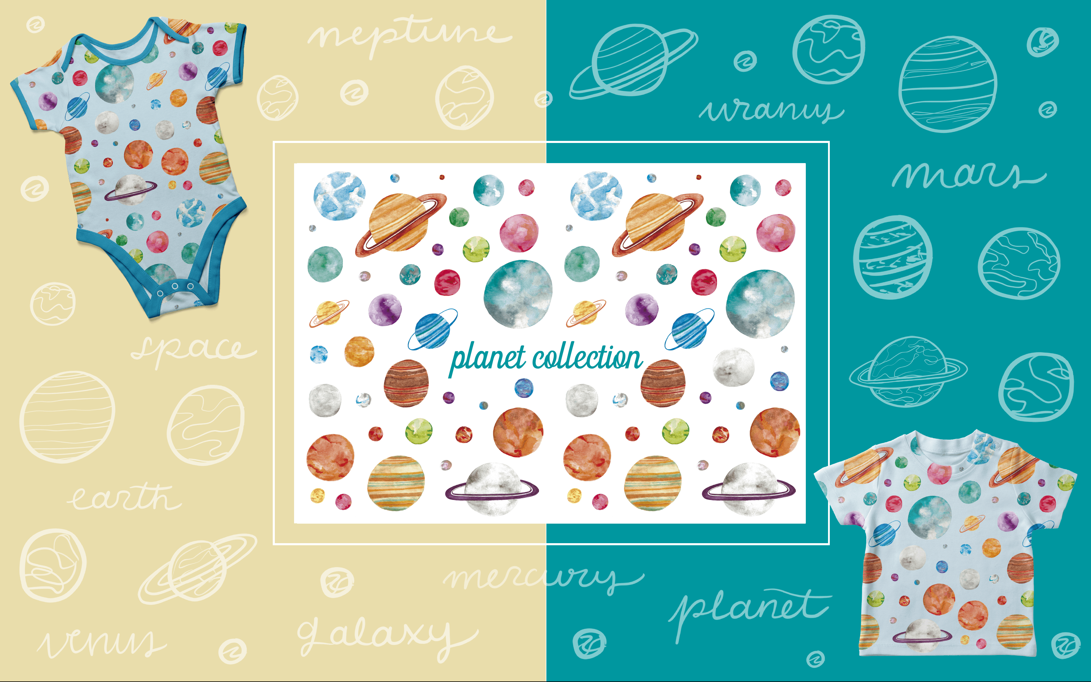 Plantet Collection - Art Licensing